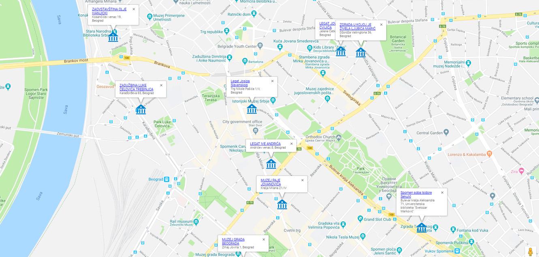 Digitalna Mapa Legata Srbije