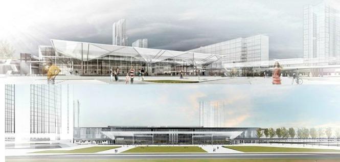 zeleznicka stanica novi beograd mapa Pogledajte kako će izgledati nova autobuska stanica Novi Beograd zeleznicka stanica novi beograd mapa