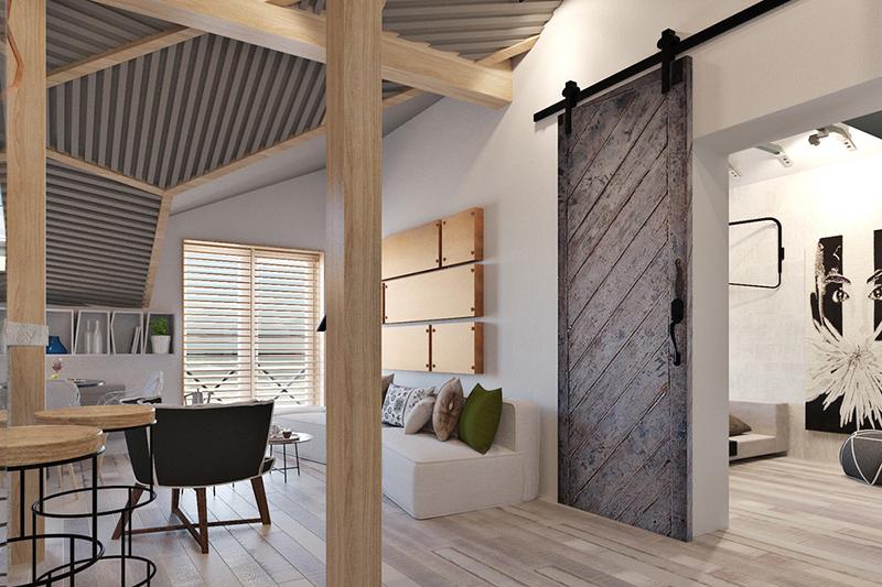 Četiri rešenja za funkcionalno uređenje malih stanova (DETALJAN PLAN)