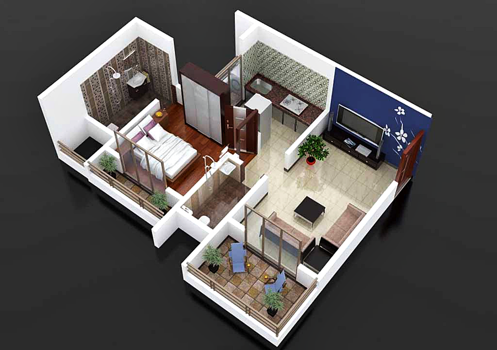 house designs and floor plans in stan with 1 Sjajnih Planova Za Jednosoban Stan on Df Kuca furthermore House Plan Drawings 5 Marla as well Small Apartment Interior Design Ideas moreover Marco Pierazzis Tiny Apartment Heart Rome besides Favorite 20 Awesome Pictures Kitchen Open To Dining Room.