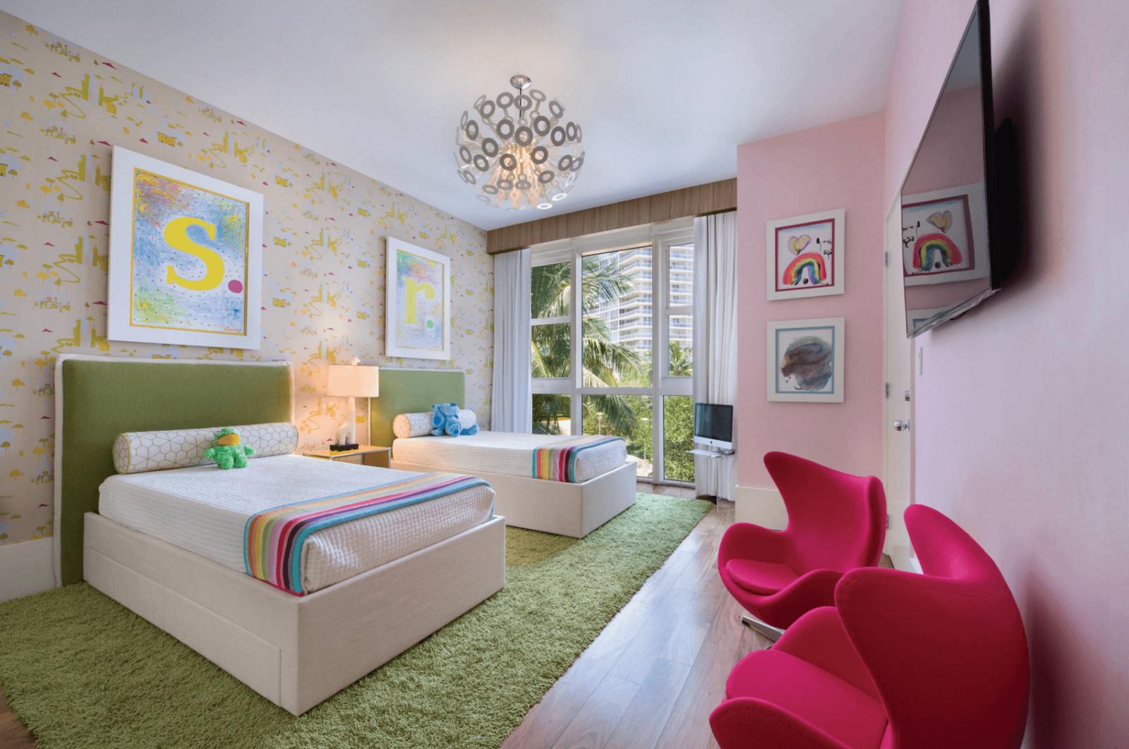 12 neodoljivih zajedni kih de ijih soba. Black Bedroom Furniture Sets. Home Design Ideas
