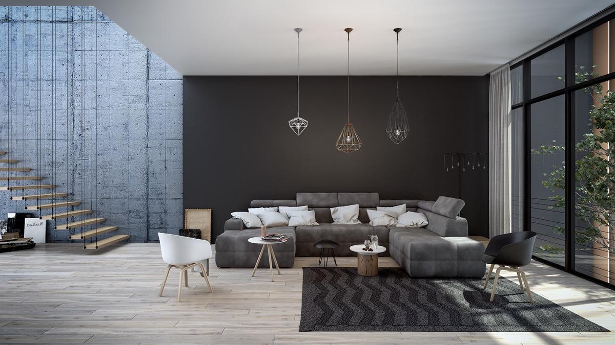 Sobe iz snova for V shaped living room