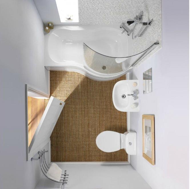Primer upotrebe sanitarija skladnih dimenzija i maksimalno