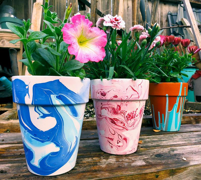 Šarene I Vedre: Lakirane Saksije Za Cveće