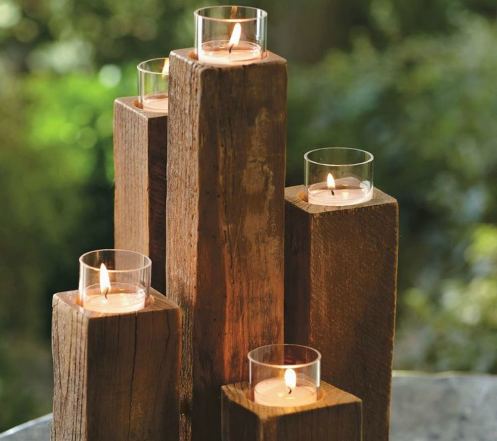 Sam svoj majstor page 14 for Candle holders out of wood